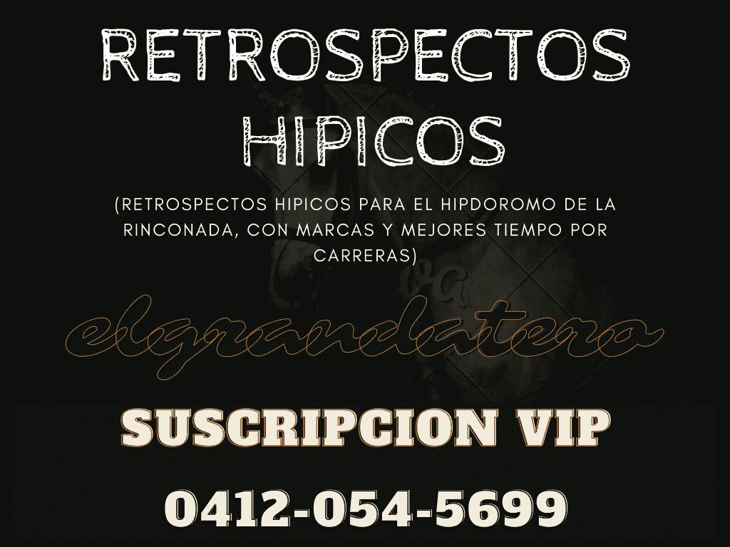RETROSPECTOS HIPICOS